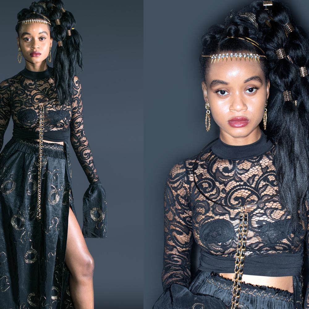 Aminata J featuring Afro Punk Couture - Designer Alika Oluchi. P