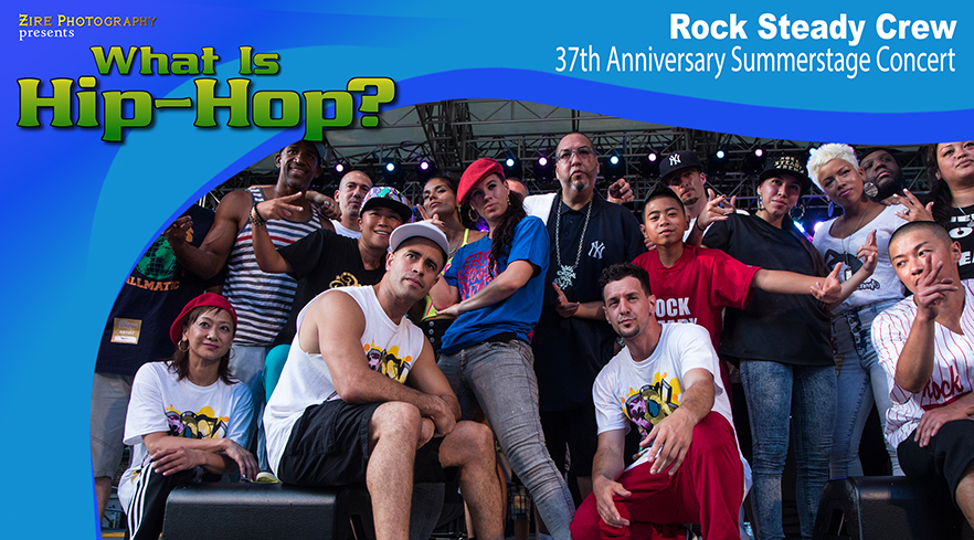 Hip-Hop History - the Rock Steady Crew celebrate their 37th Anniversary