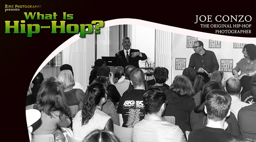The Original Hip-Hop Photographer, Joe Conzo at The Revolution of Hip-Hop Exhibition