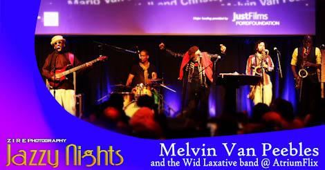 Melvin and Mario Van Peebles at Lincoln Center's AtriumFlix
