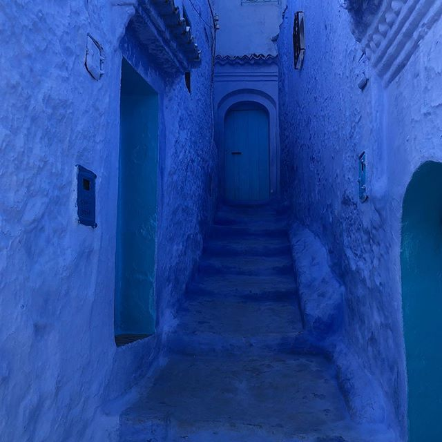 Chefchaouen, Morocco's blue city was absolutely stunning. Could have roamed its picturesque streets for days.