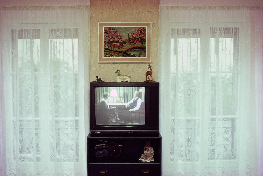 Objet télévision, Paris 1997 - Photographie Silvana Reggiardo
