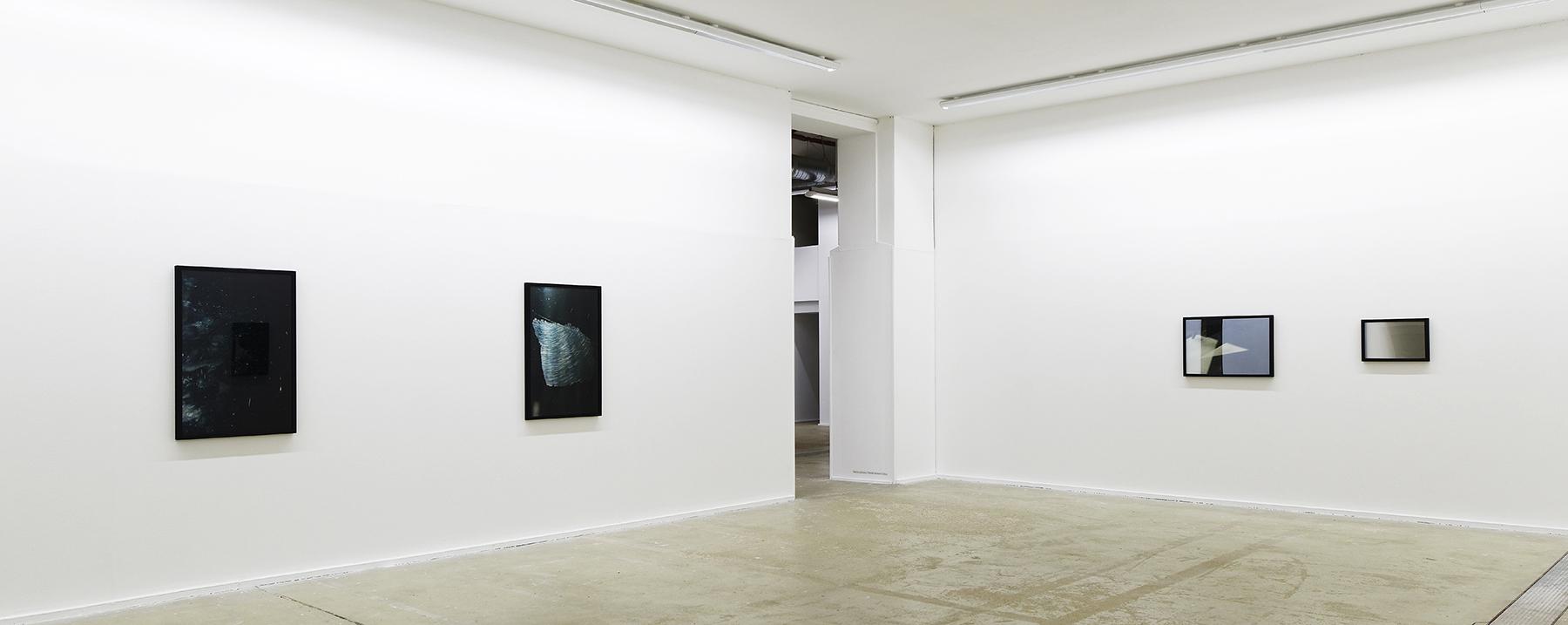 Vue d'exposition Centre photographique d'Île-de-France  Les précipités #3  - 2016