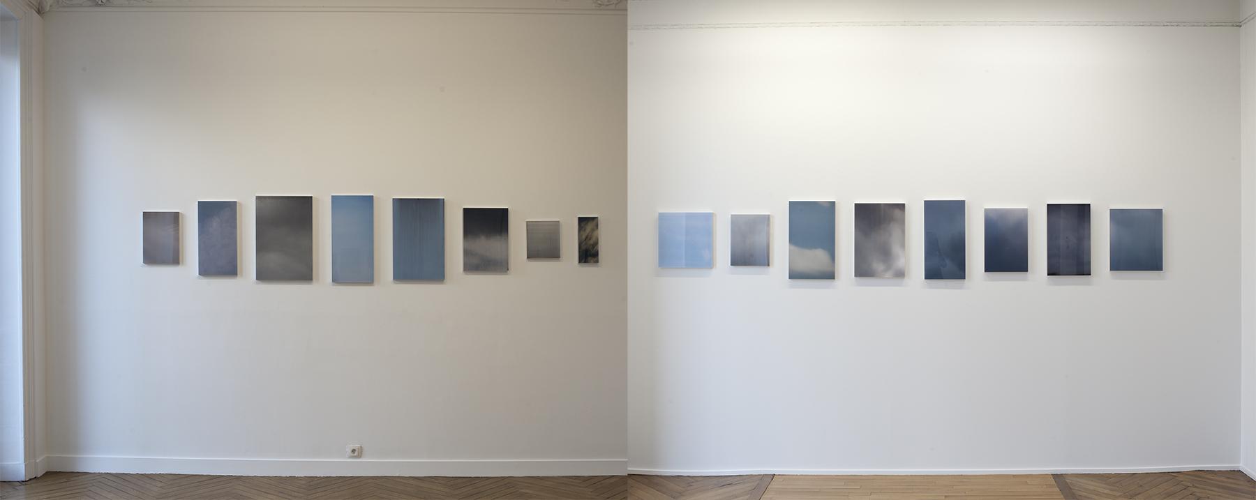 L'air ou l'optique Vue d'exposition Galerie Mélanie Rio