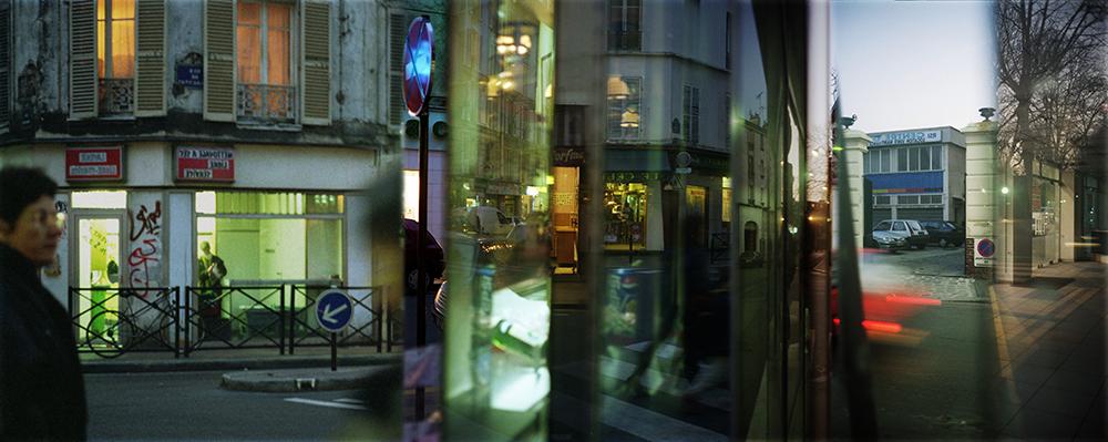 Les présences désagrégées Paris, 1998-2000