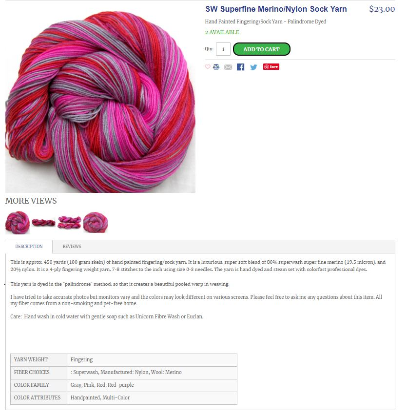 Image copyright Fibercrafty - individual products under copyright of shop owner ShariArts
