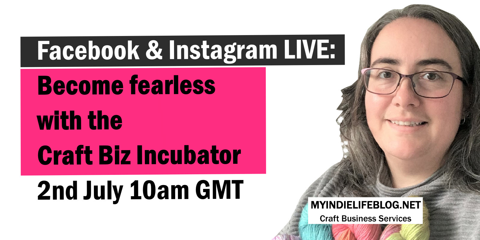 Become fearless with the Craft Biz Incubator.