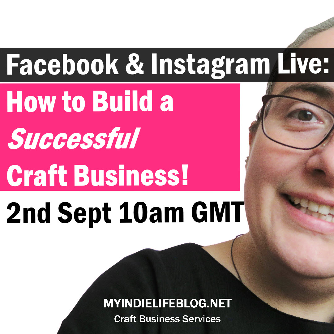 LIVE - how to build a successful craft business