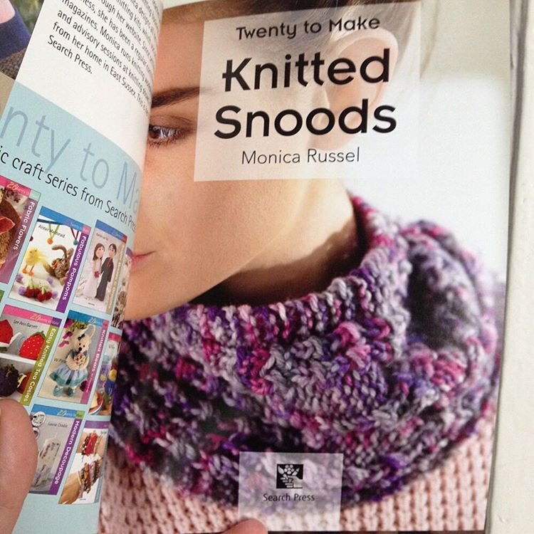 Sara's Texture Crafts Yarn in 'Twenty to Make - Knitted Snoods' from Search Press