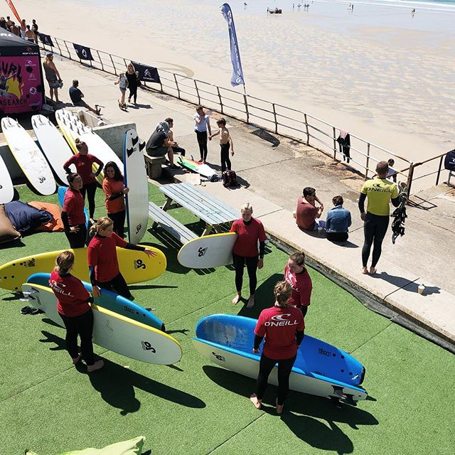 Saturday surf club!  It's looking like a scorcher! Kids at 11am, Adults at 12! Turn up and get some sick sunny waves!
