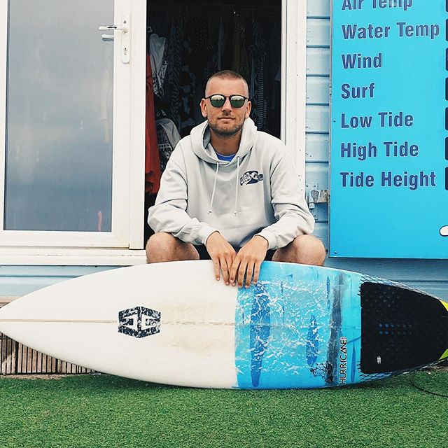 We're back on insta and coming in hot! Here's Jack with one of the latest Hurricane Boards we now stock along with a pair of Moken Sunnies