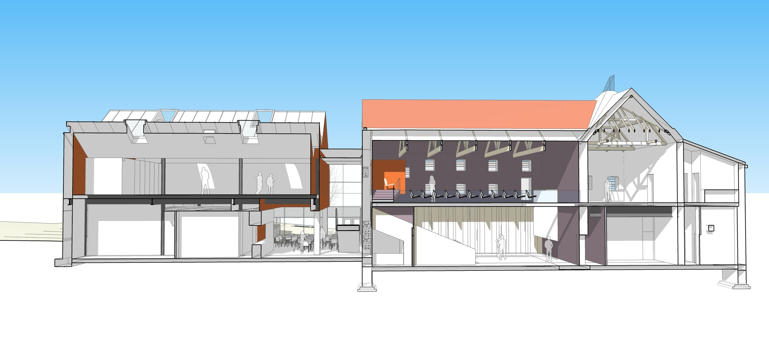 wells maltings trust - plans for the new theatre space