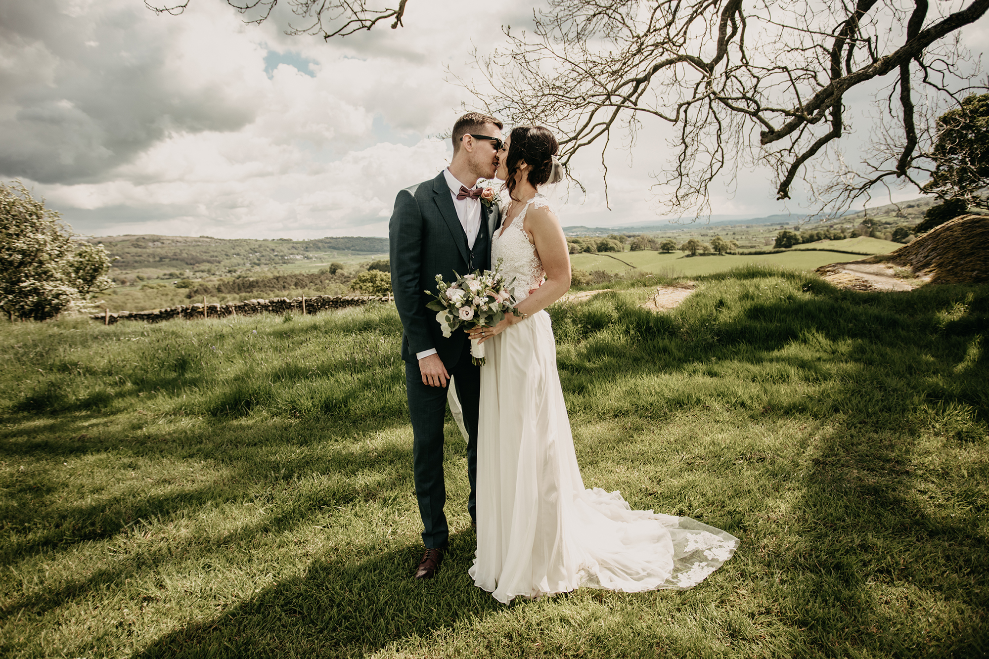 lake district barn wedding photographer