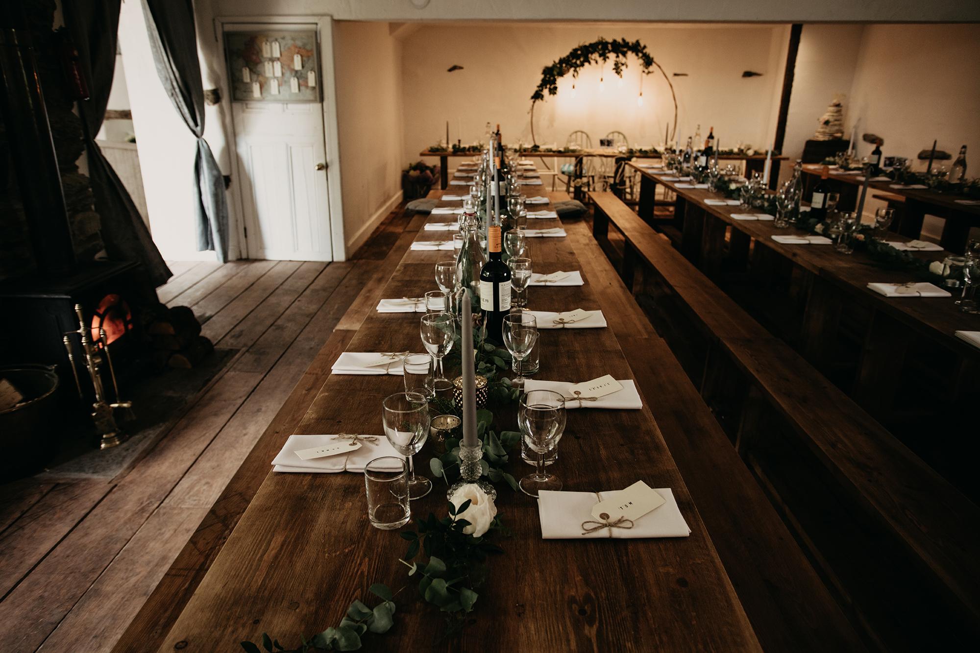 paddock barn kendal wedding