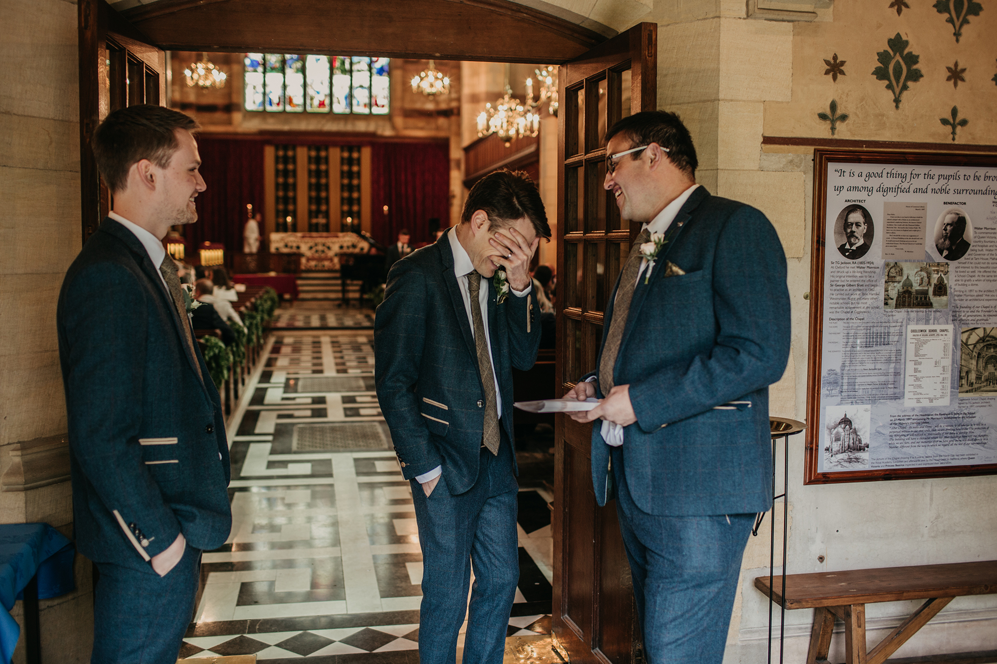 wedding photographer in settle north yorkshire