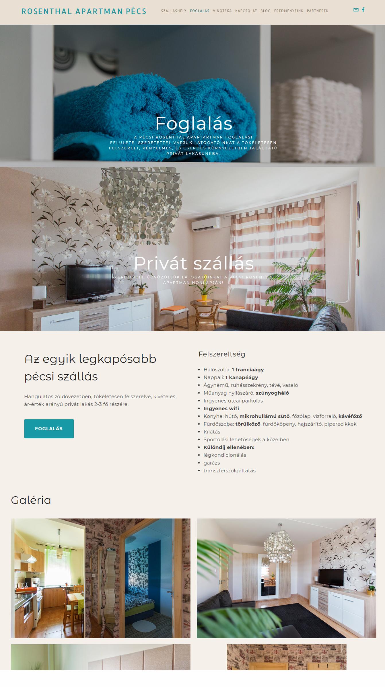 Honlap - www.rosenthalpecs.com
