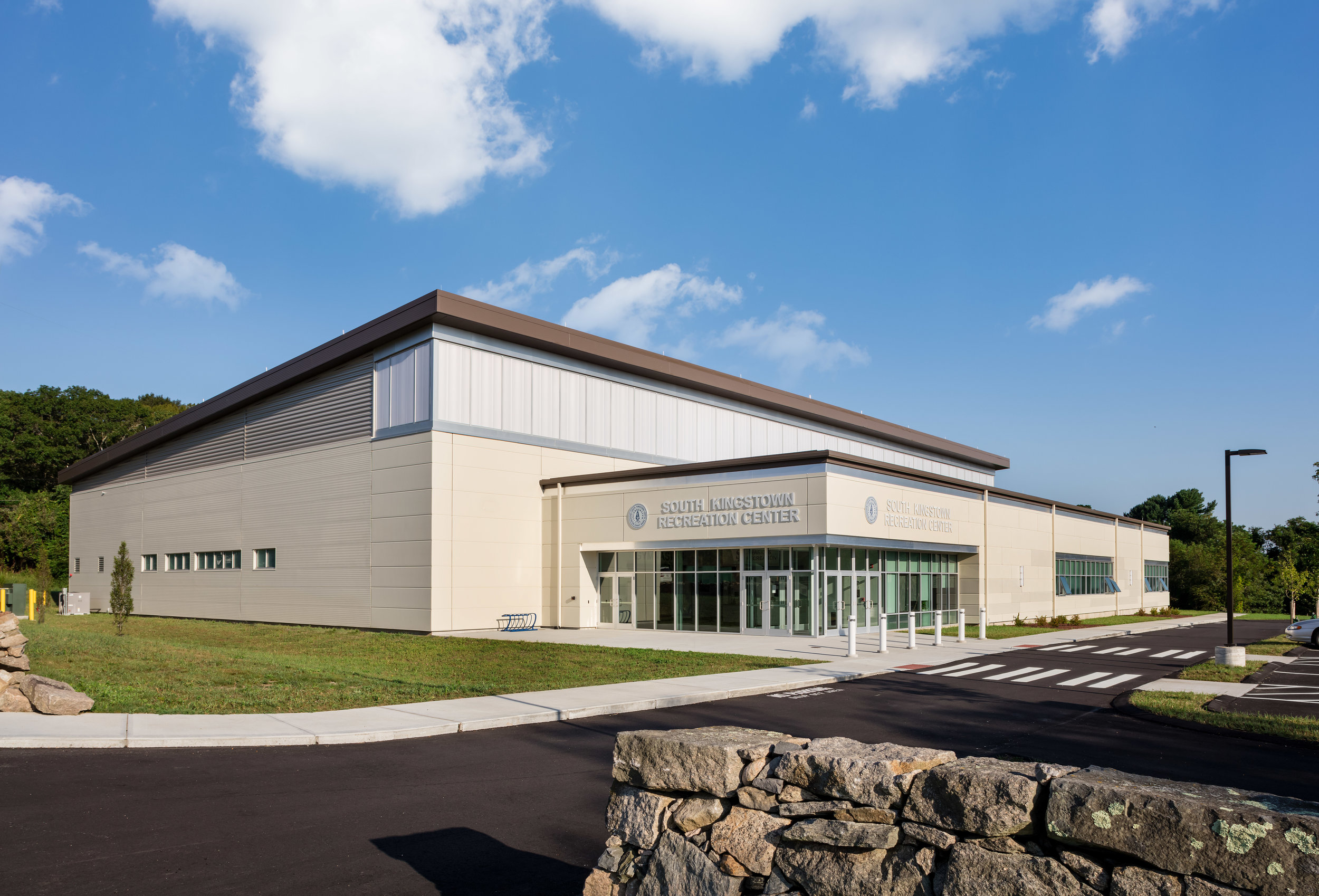 The new South Kingstown Recreation Center