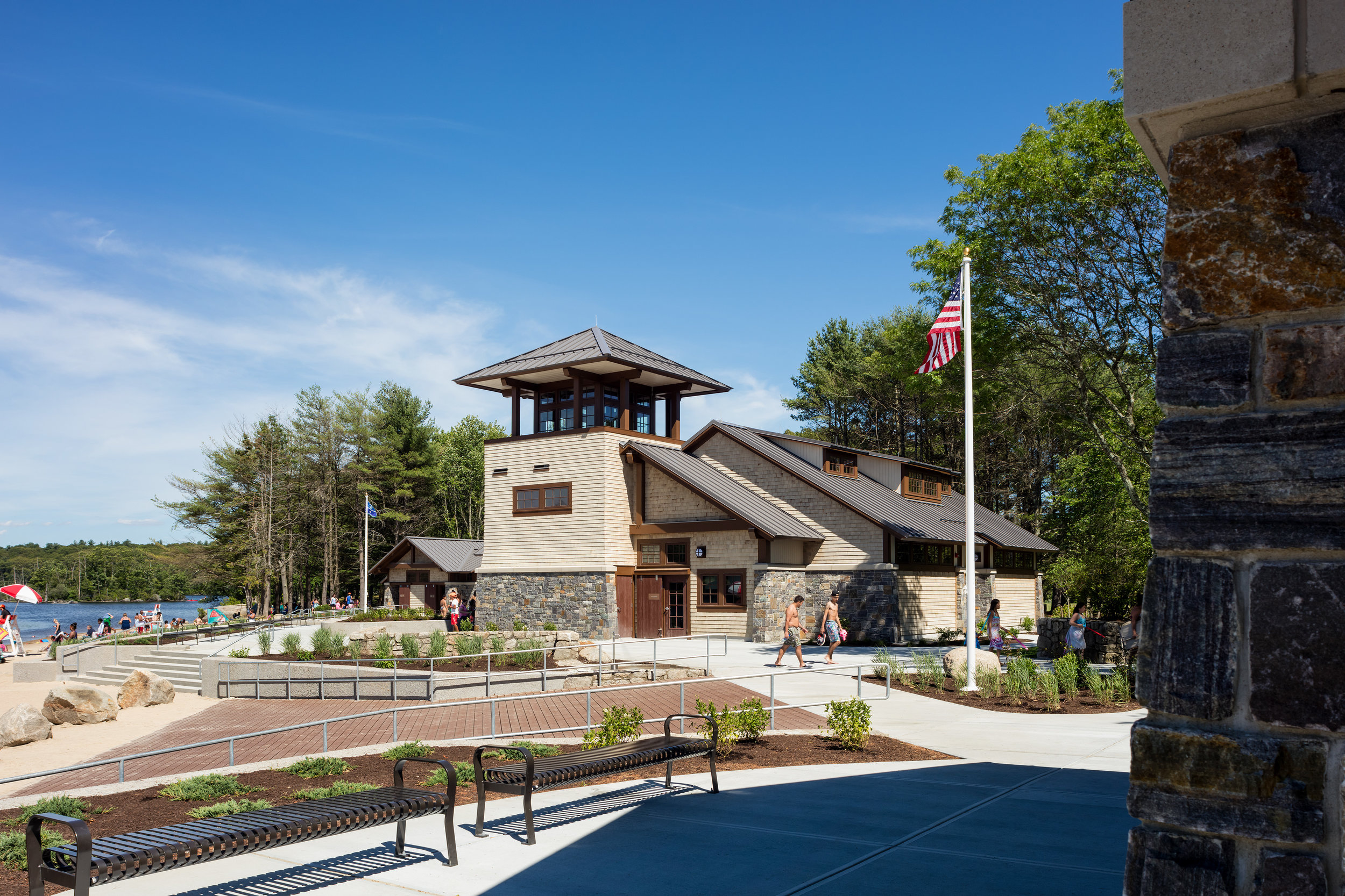Lincoln Woods State Park New Visitor Pavilion