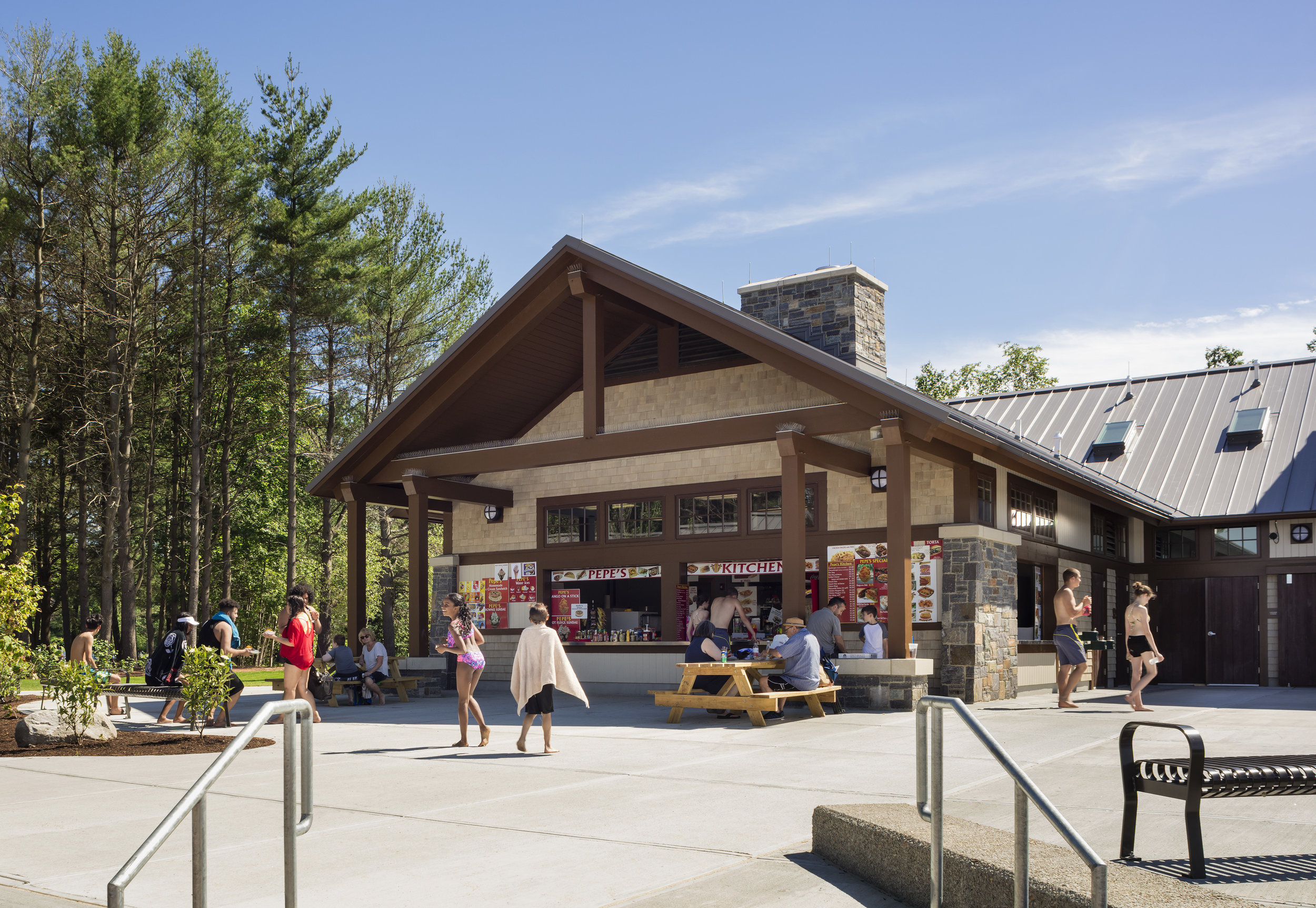 Lincoln Woods new Concession Area and Visitor Amenities