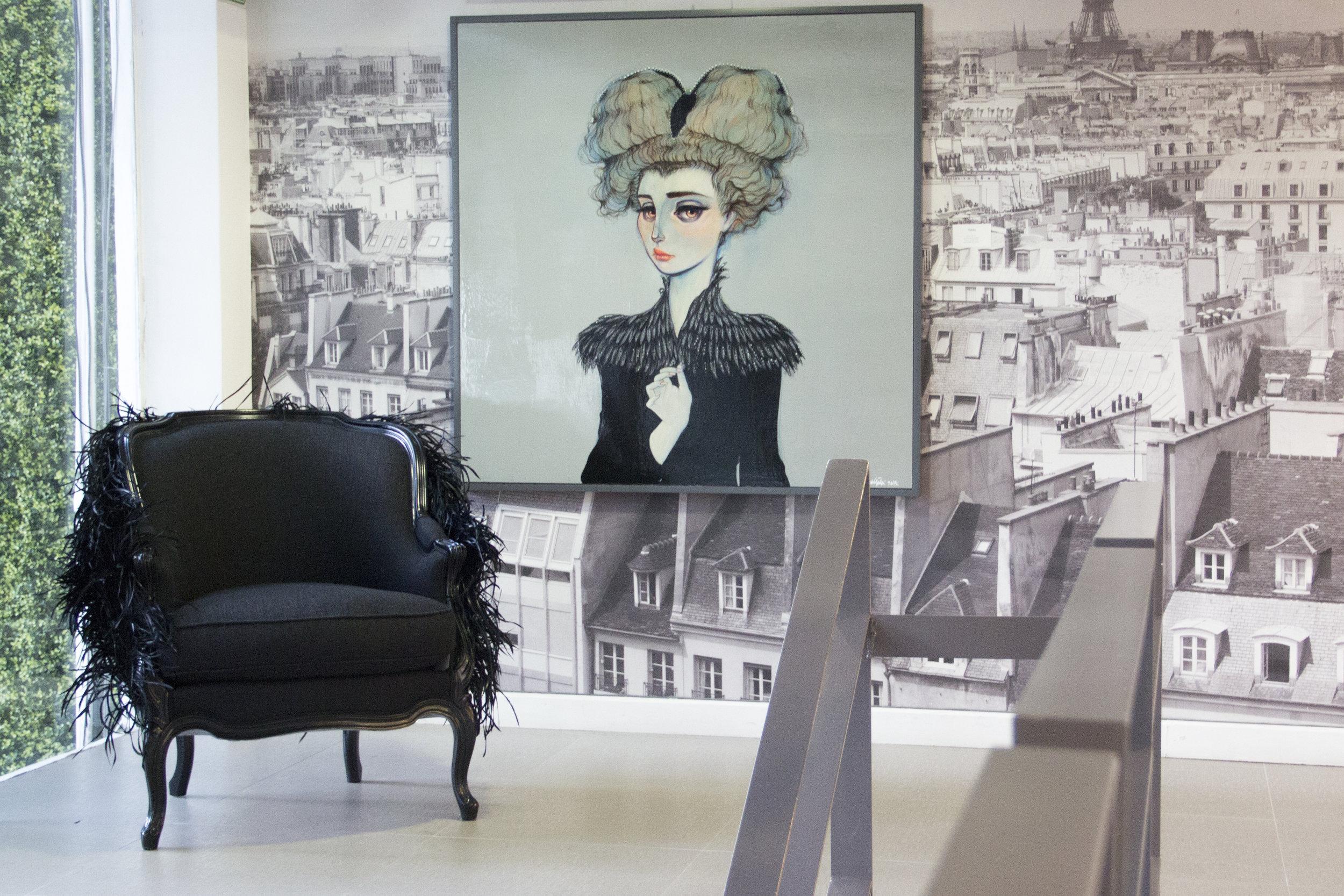 Sybil at Roche Bobois - L'arte de vivre by Pablo de Gortari
