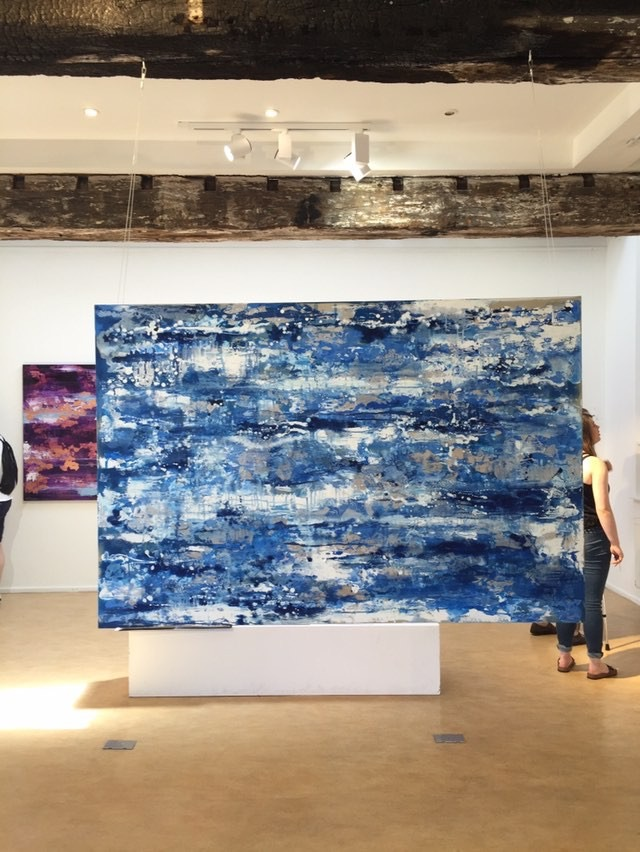 Shimmering Summer Sea by Chelsea Davine sold through Singular.com in 2018