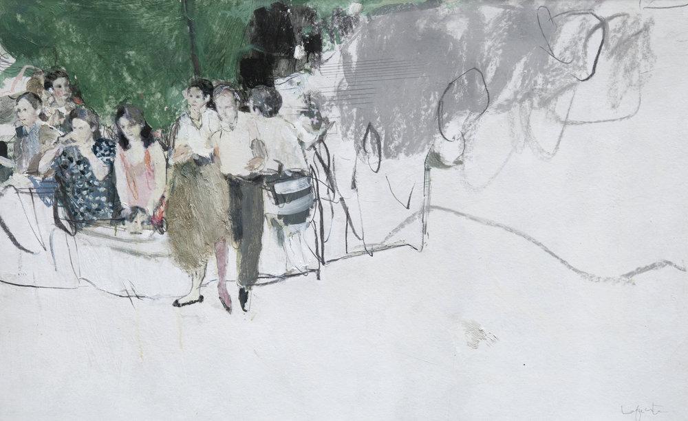 Scene 3 - 100 x 70 cm