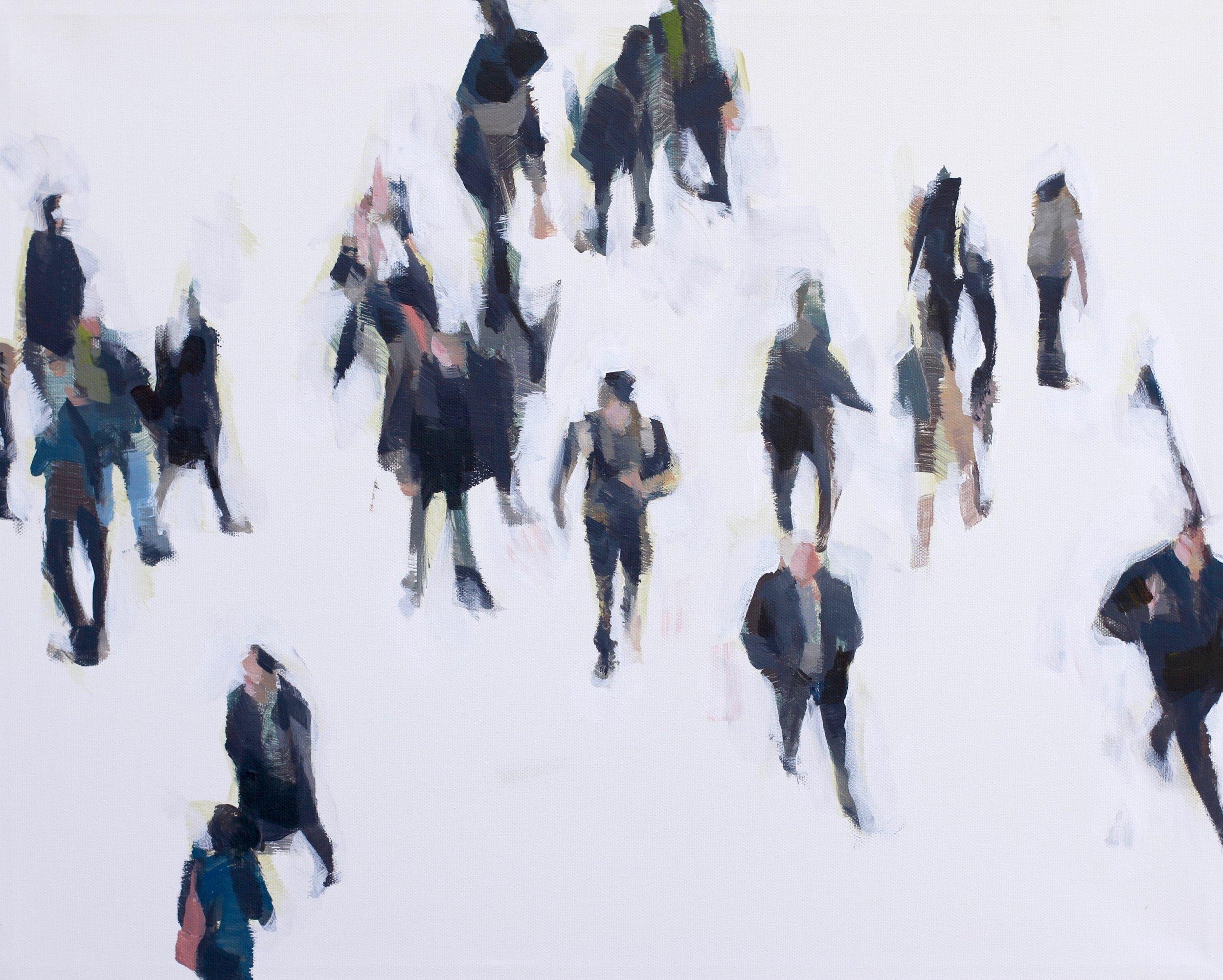 Crowd 40.5 x 51 cm
