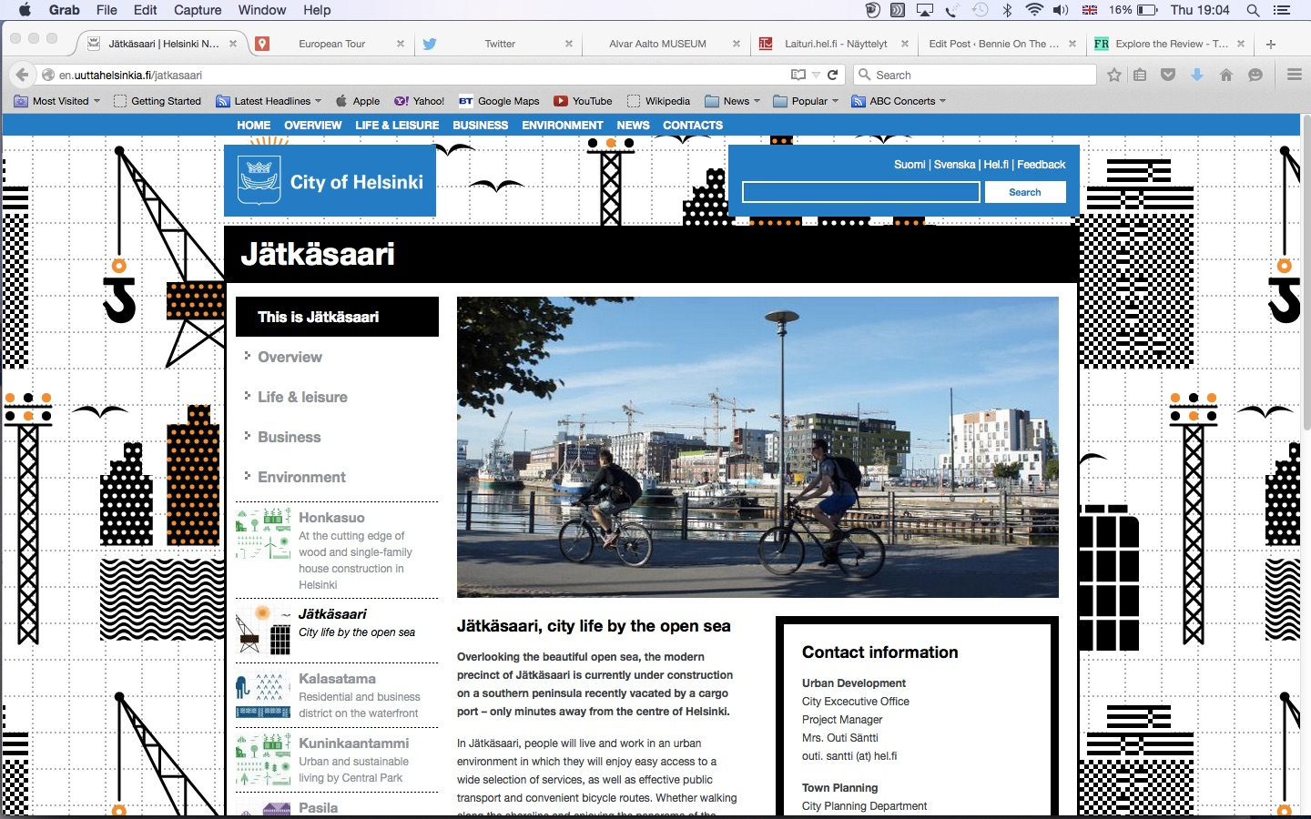 City Website