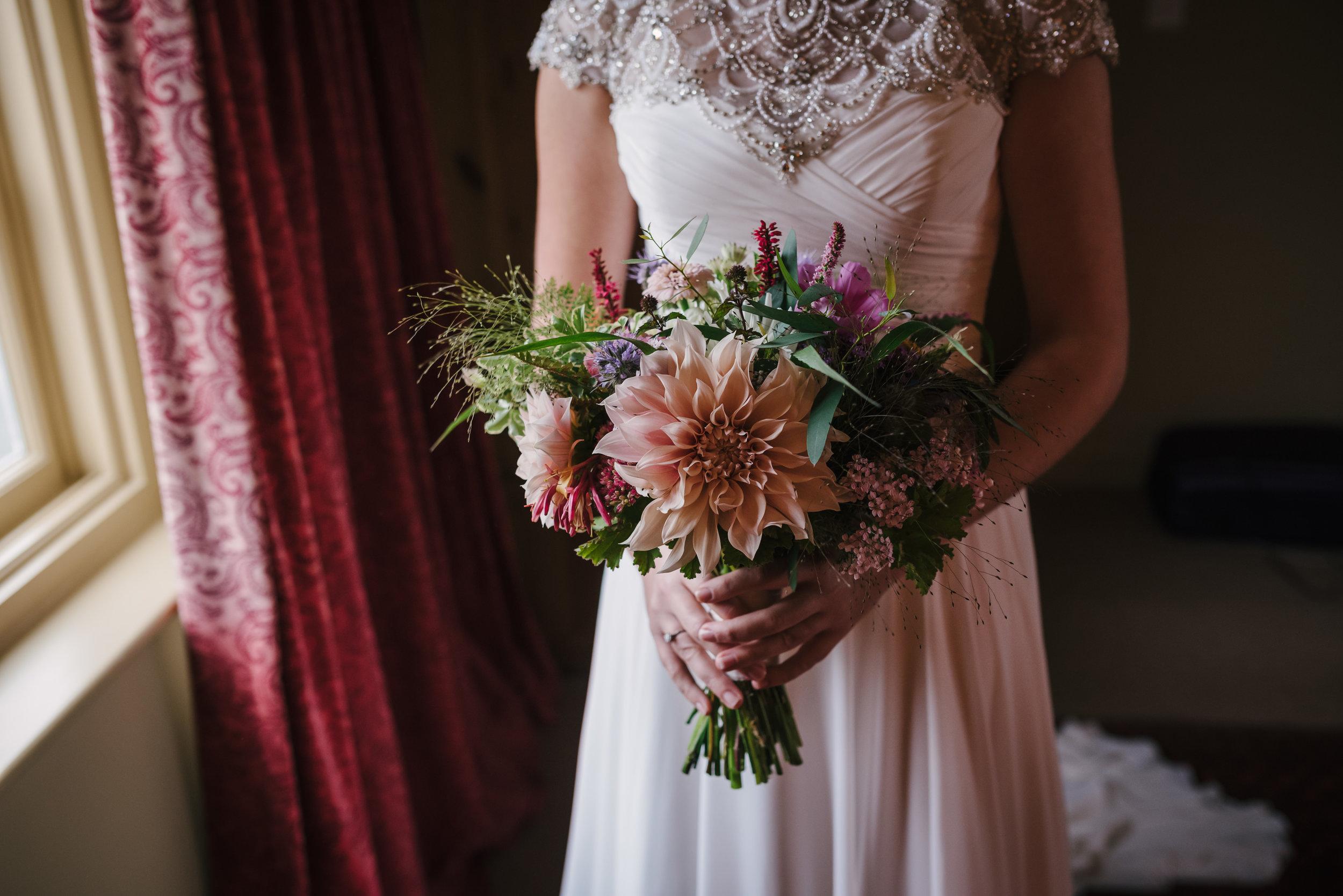 September Seasonal Bridal Bouquet