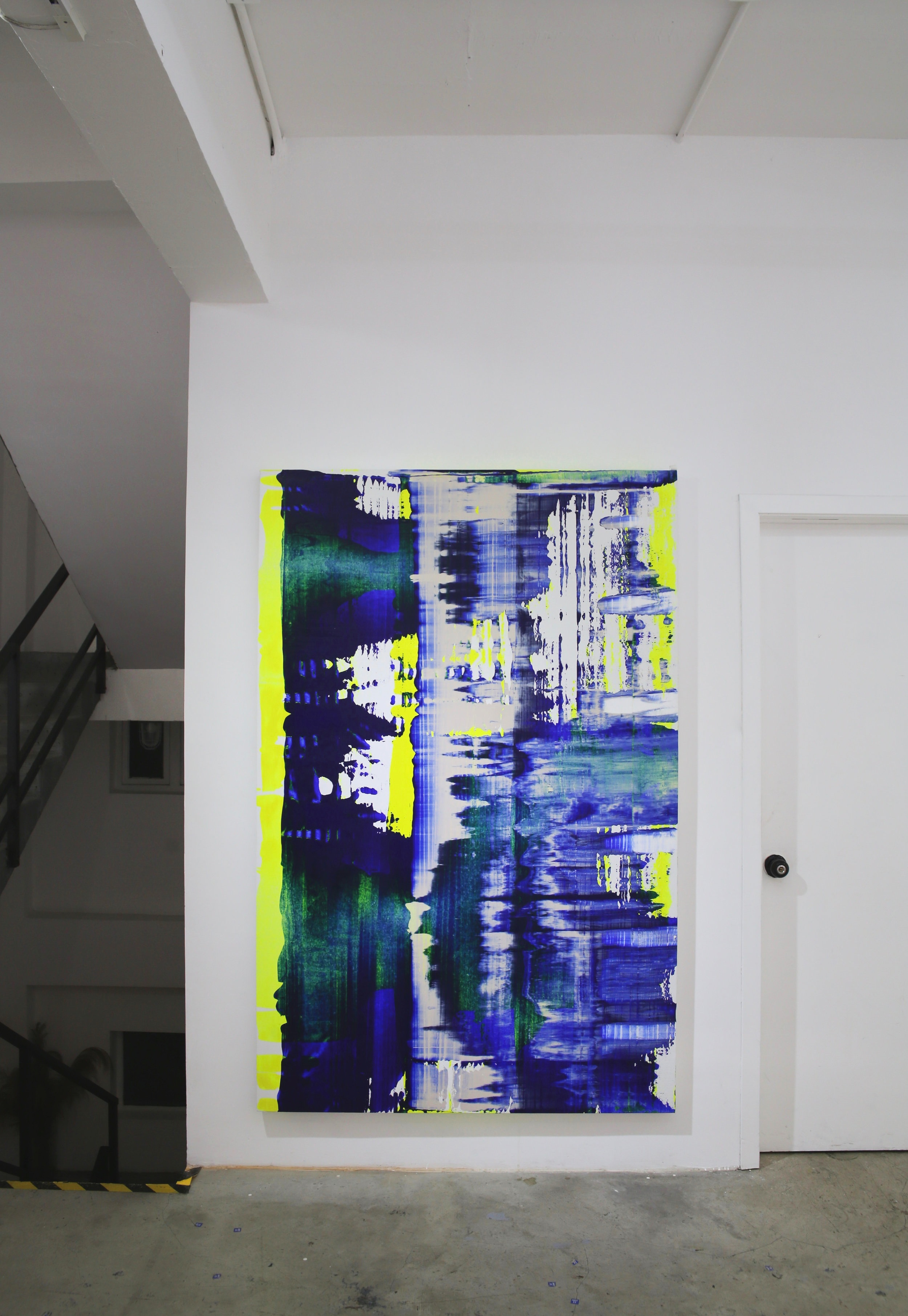 Dixieme etage Nouveau I acrylic on canvas 200 x 130 cm 2019.jpg