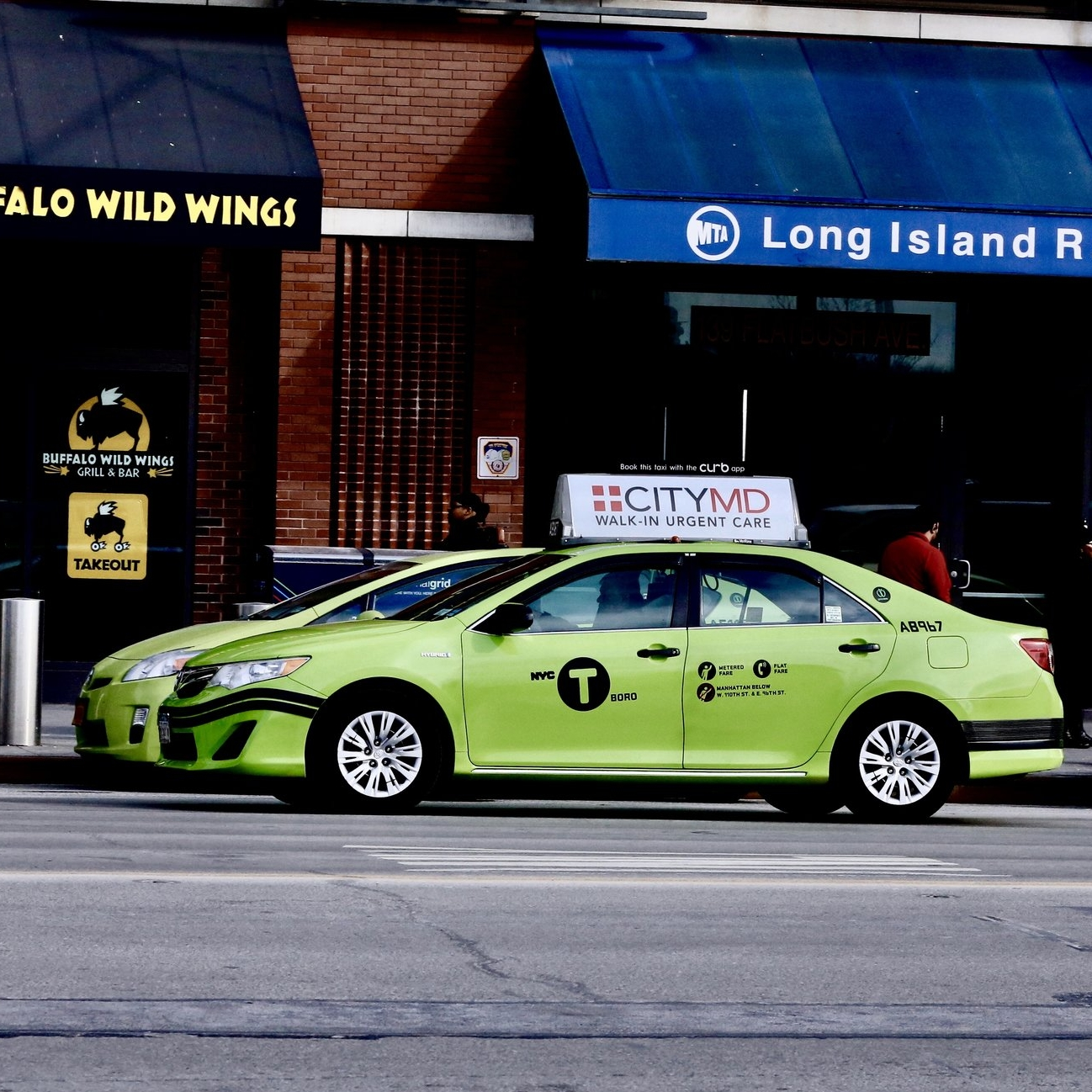 Taxi Top Advertising in New York City and Brooklyn