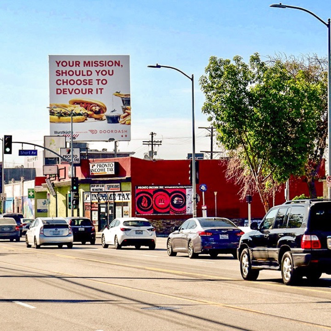 Billboard Advertising in Los Angeles - Start up Company