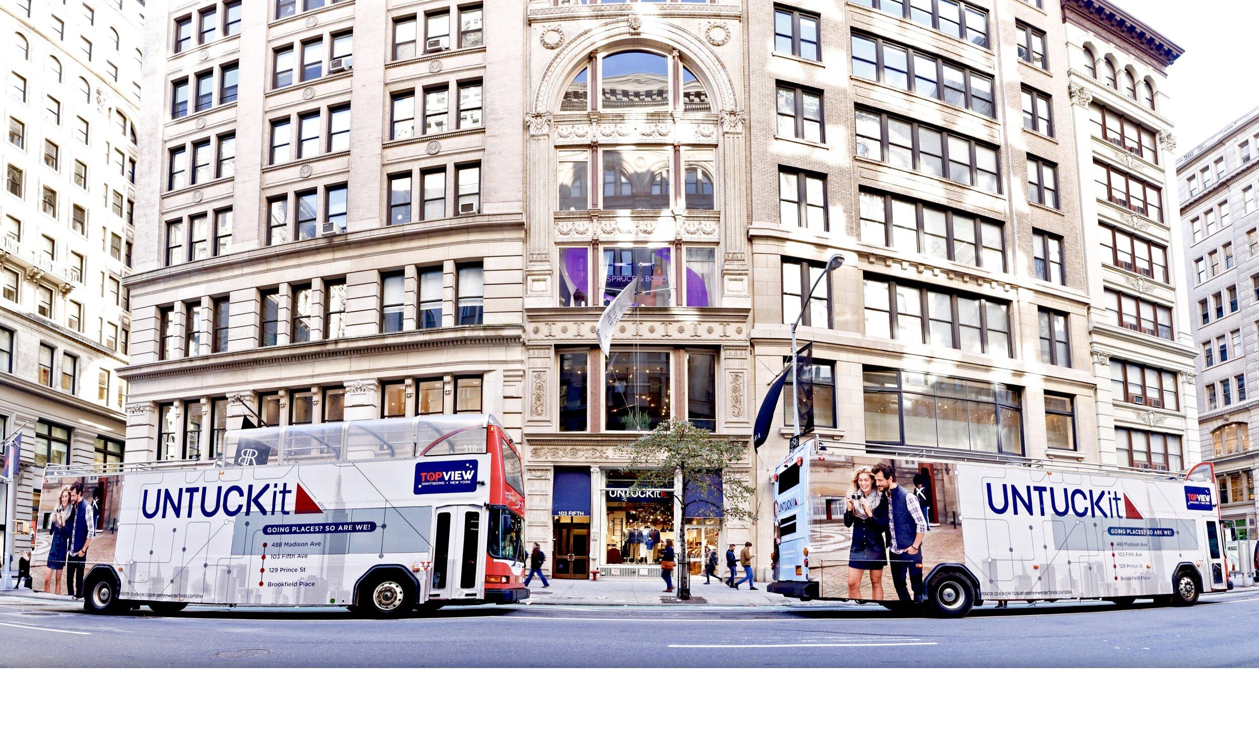 Bus Wrap Advertising - Start Ups