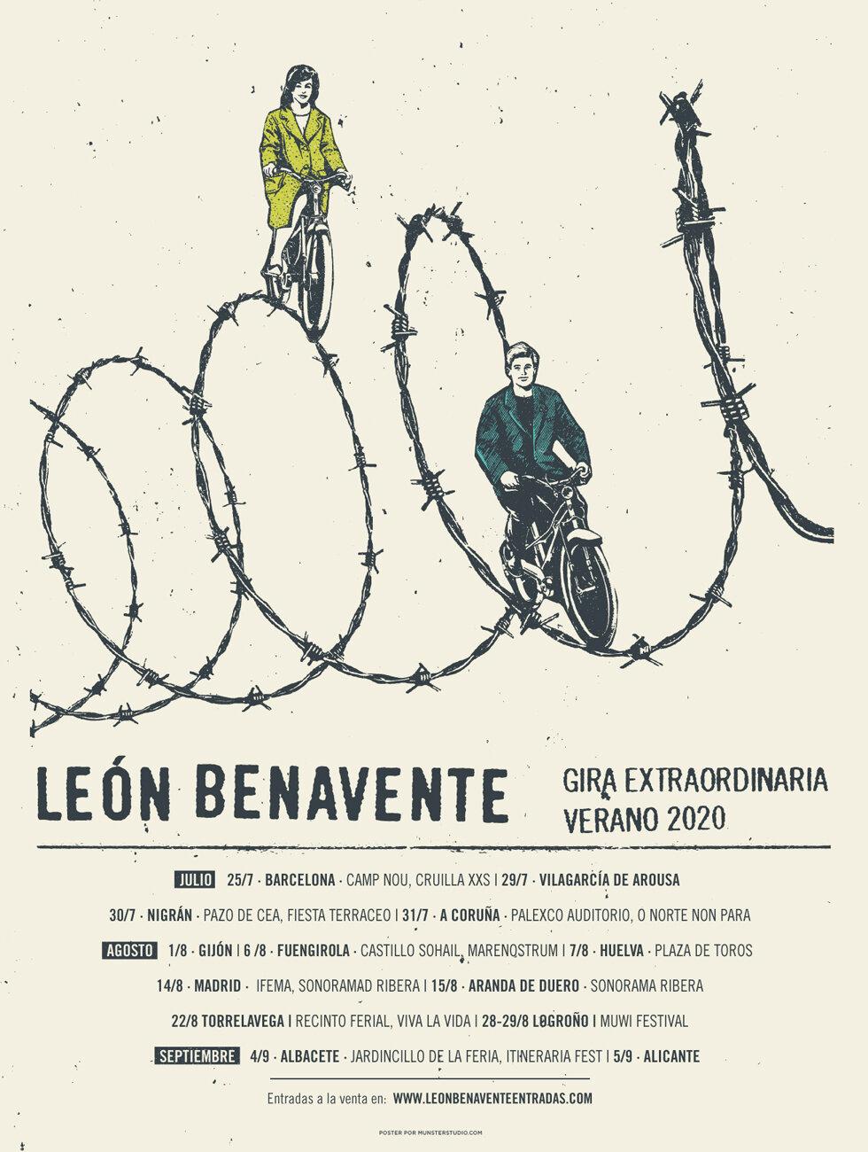 León Benavente - Página 14 CartelGiraExtraordinaria