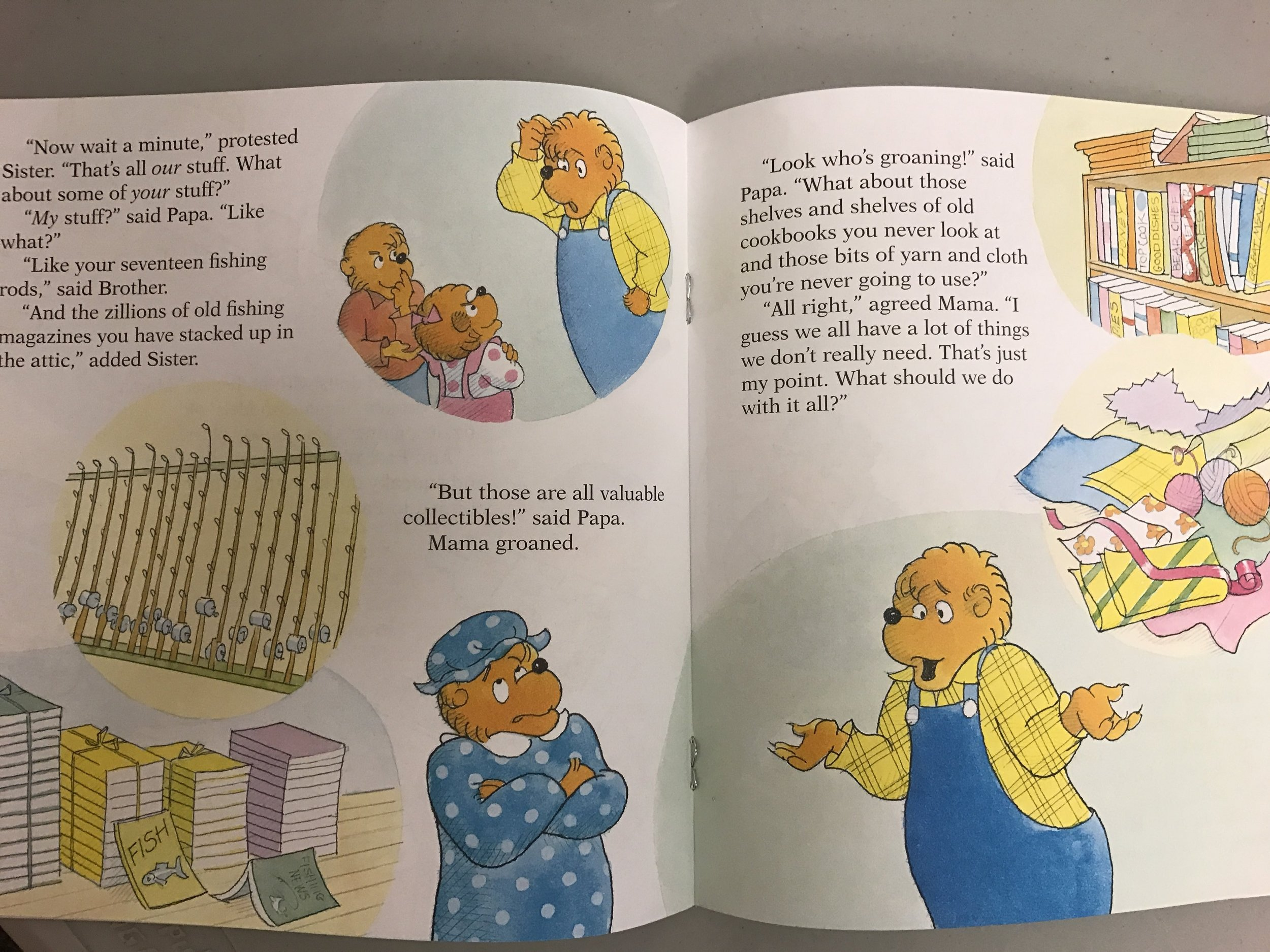 Think of Those in Need by the Berenstain Bears