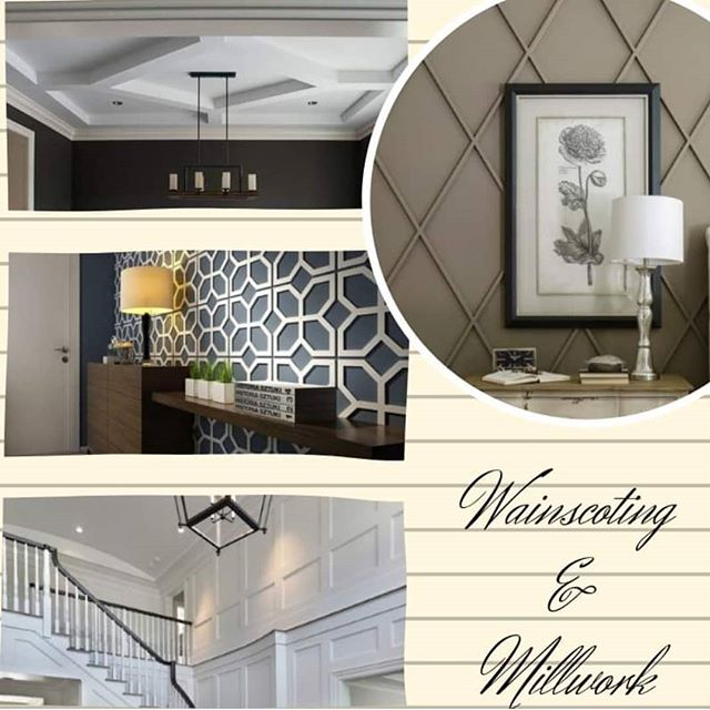Wainscoting & millwork, such beautiful things  #customhomebuilder  #wainscoting  #millwork #uniquewalls #customhome  #imdrooling