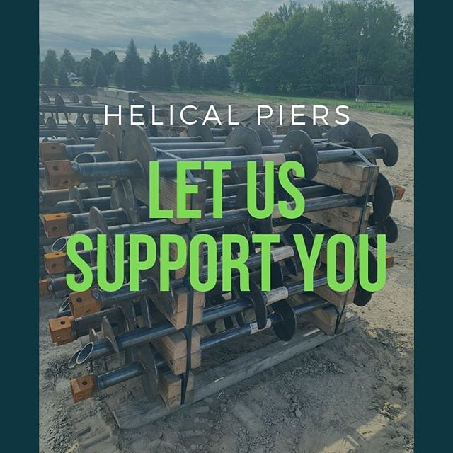 HELICAL PIERS! That's right, Fresh Start Companies is now in the foundation systems biz! Whats a helical pier you ask? Read On! A helical pier is a foundation pin made of steel that contains helices just like screws. ... Helical piers are used to support structures especially where soil conditions are challenging, making it hard to set up a traditional foundation system. Instead of expensive large excavations, they thread deep into the ground. Basically, we support you! Give us a call for a FREE quote on your next project, big or small! #helicalpiers #foundationsystems  #customhomebuilder