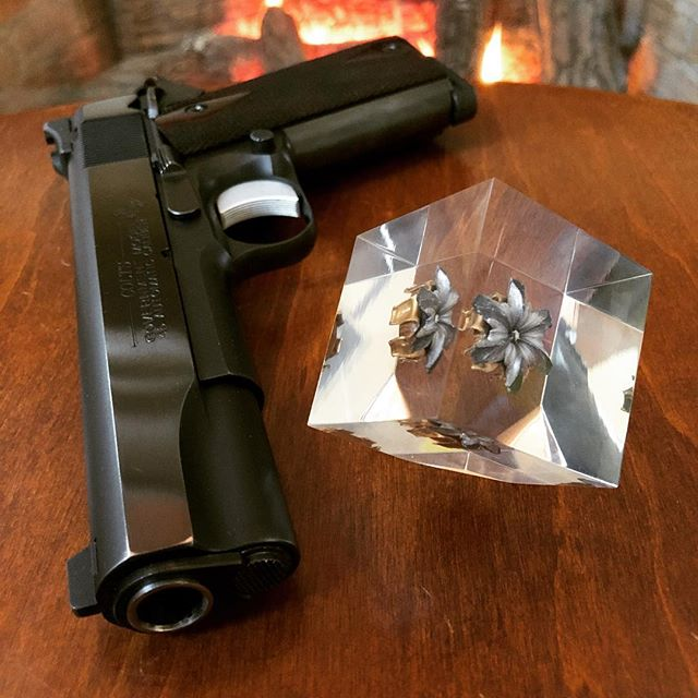 #firedshots #colt #colt1911 #45 #pistol #guns #federalammunition #hollowpoint #selfdefense #gunporn #2ndammendment #everydaycarry #2a #pewpewlife #igmilitia #weaponsdaily #gunsdaily #edc #gunchannels #45caliber #45acp