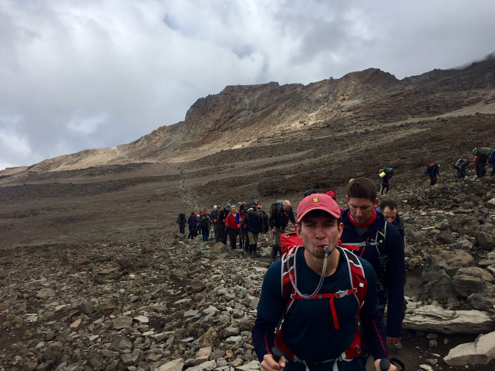 to Rory  - who pushed me to sign up,wake up and hike up Kilimanjaro.