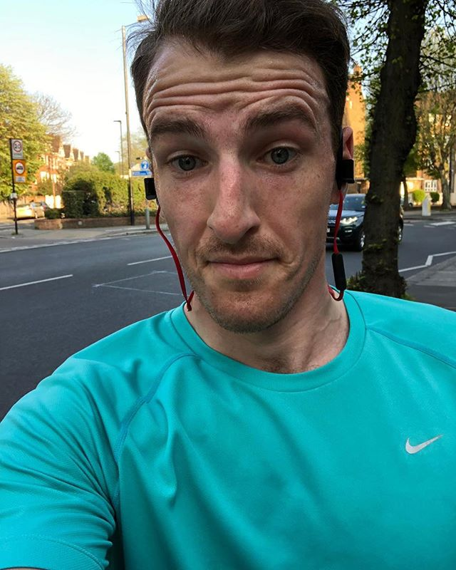 @angusdixon was still out running in the hot weather over the weekend. . . He is training for the @londonmarathon taking up our first ever Marathon spot! . . Use the link in our bio to donate! . . #noexcuses #marathon #londonmarathon2019 #londonmarathon #fundraising #concussion #concussionawareness