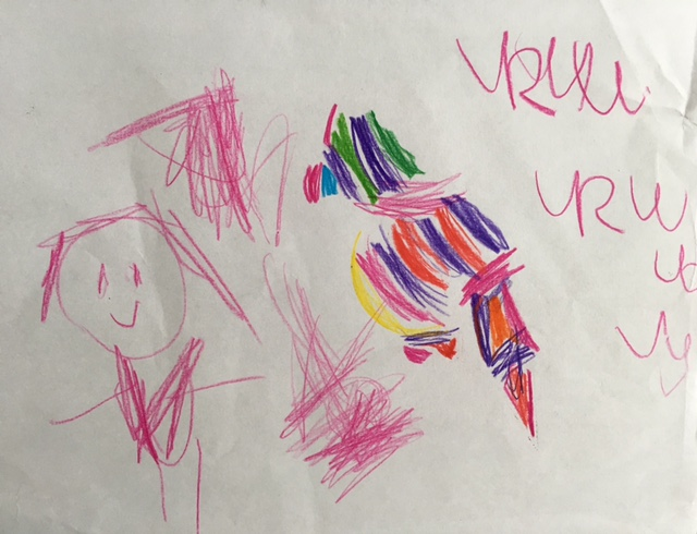 Colourful parrot! By Ruby
