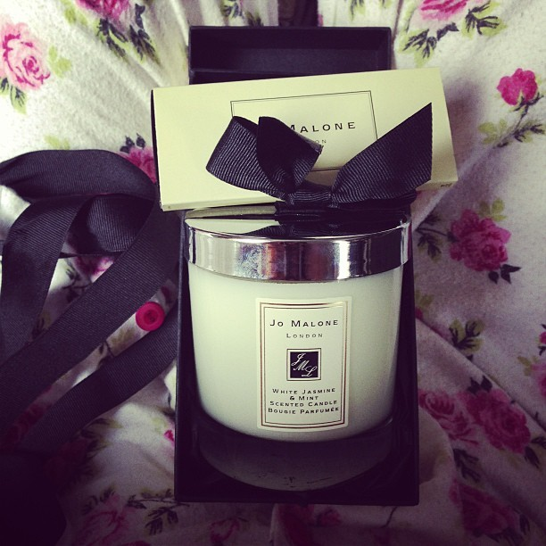 I can't believe you bought me this!!!!!! You know how to spoil a girl. Thank you. #JoMaloneCandle #birthday @_misswong