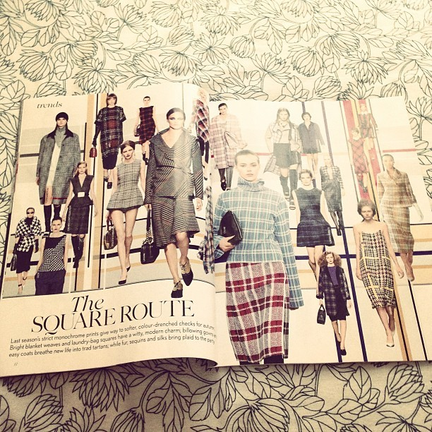 It appears @JW_ANDERSON can see into the future. #BoxPleats #Check As seen in @BritishVogue & @ybdfashion bit.ly/10XGl5k