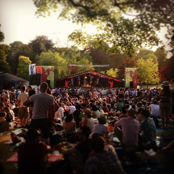 This is what sold out looks like @mostly_jazz festival.