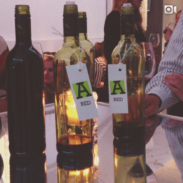 #thesocialwine We were asked to pick our favourites from a selection of three white wines (1,2&3) and two reds (A&B). Out of them all I liked B. best. I'm a red drinker (an amateur wine fan/appreciator) and so, picking a white that I liked was harder for me to make my mind up. My 'palate' isn't used to it. But I must say number 3 was the nicest and most drinkable.   Want to know more about the wine you buy/drink?   Our Tesco Wine expert, James Griswood,  says to check out the Wine and Spirits Educational Trust (WSET) for details on courses.