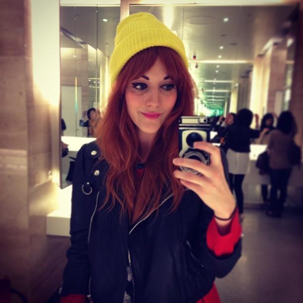 New hat @jmgcreative. Sunshine yellow from @urbanoutfitters.