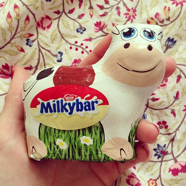 I know it's not Easter yet but… #Milkybar