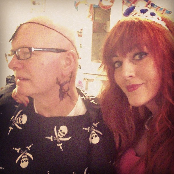My grandad is AMAZING! He has fully embraced the pirate role at our family fancy dress party! #piratesandprincesses