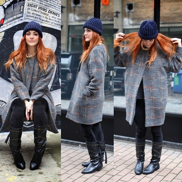 Did you see my latest #OOTD post? Ft. Double-Oh heaven @YBDfashion  @ZoeJordanStudio's The Bond Coat. #fbloggers #fashion #style #blogger #whattowear #inspiration #photo #me #girl #redhead #hair #print #fblogger #clothes #ootd #wiwt #instapic #outfit #whatiwore #igdaily #london #fashiondiaries #aw12 #instafashion #youngbritdesigners