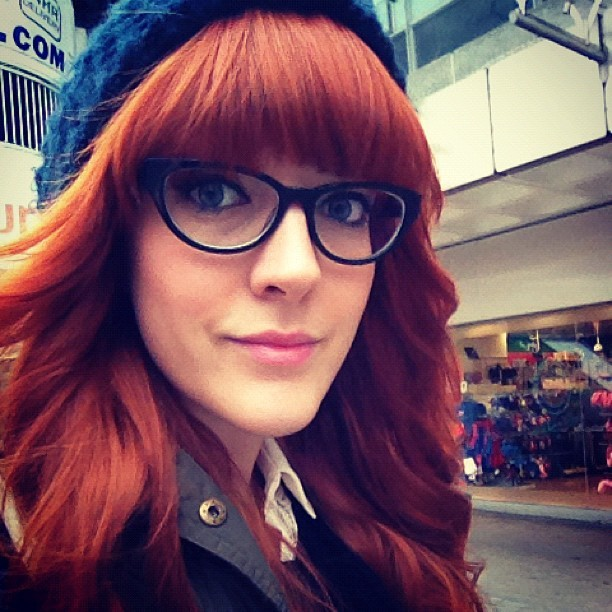 My new @redordeadlondon #catseye glasses from @Specsavers. I'm usually a contact lense wearer ALL OF THE TIME so this specs wearing is going to take some getting used to. #Fashion #style #blogger #whattowear #inspiration #photo #me #girl #redhead #hair #redordeadlondon #fblogger #glasses #ootd #wiwt #instapic #outfit #whatiwore #igdaily #specs #catseye #sight #vision (Taken with  Instagram )